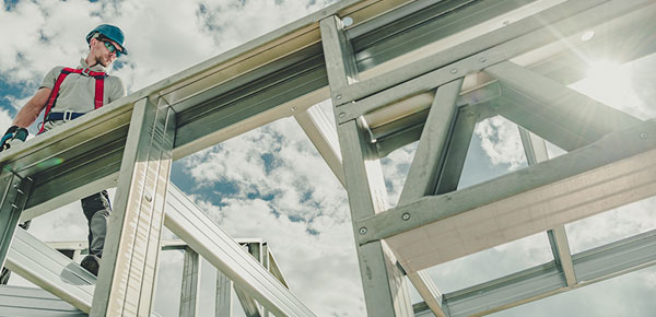 builder and steel framing